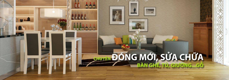Thiết kế nội thất bàn ghế gỗ